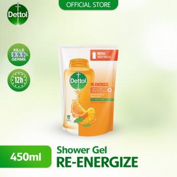 Dettol Body Wash Liquid Re-energize 450ml