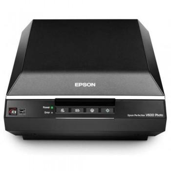 Epson Perfection V600 Photo — A4 Flatbed Scanner - 6400x9600dpi Black Powerful Digital ICE Technology