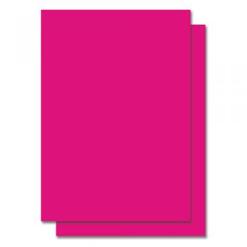 Fluorescent Color Label Sticker - A4 size - 100 sheets - Pink (Item No: C01-05 PINK)
