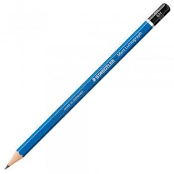 Staedtler Mars Lumograph Pencil 12/Box-6H