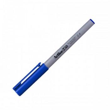 Artline 250 Permanent Marker EK-250 - 0.4mm Blue