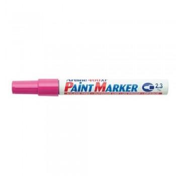 Artline 400XF Paint Marker Pen - 2.3mm Bullet Nib - Pink