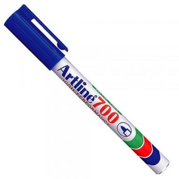 Artline 700 Permanent Marker EK-700 - Pocket Clip 0.7mm Blue EK-700-L [709689]