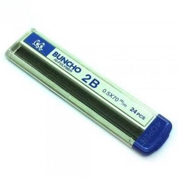 Buncho 2B Pencil Leads 0.5mm