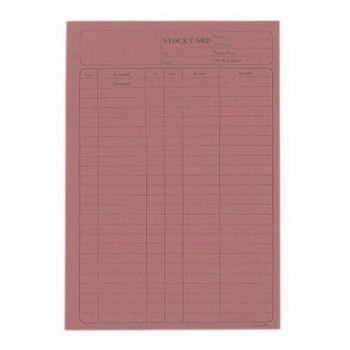 5006 120Gsm Stock Card 20'S Pink