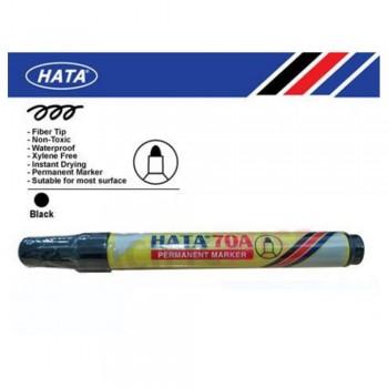 Hata Permanent Marker 70A Black