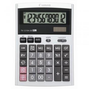 Canon Calculator TX-1210Hi III - 12-Digit Desktop Calculator, Tax Calculation, IT Touch Keyboard