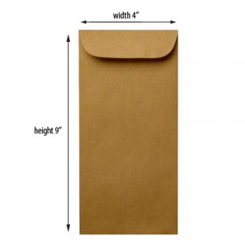 Brown Envelope - Manila - 4.5-inch x 9.5-inch
